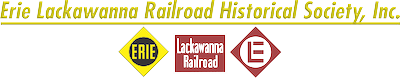 Logo for Erie Lackawanna Railroad Historical Society